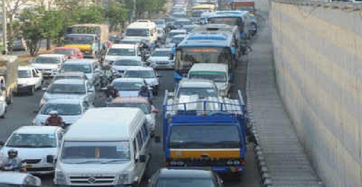 With 2 crore vehicles in Karnataka; Bengaluru choked with 76 lakh