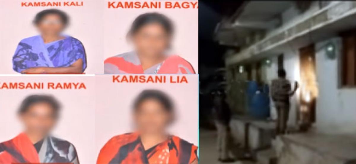 Yadagirigutta: Police rescue seven girls from traffickers