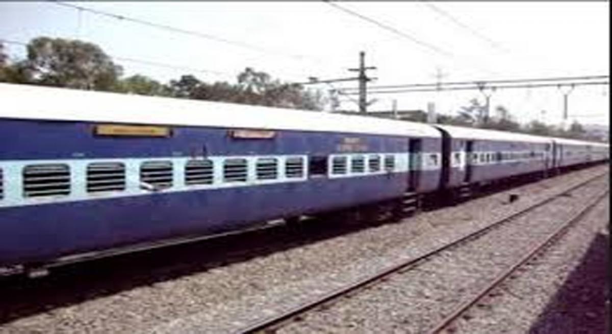 Special train for New Delhi