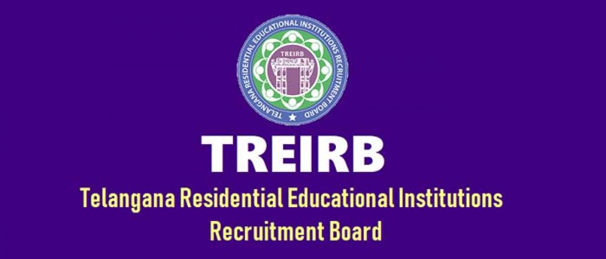 TREI-RB asks candidates for TGT exams to download hall tickets