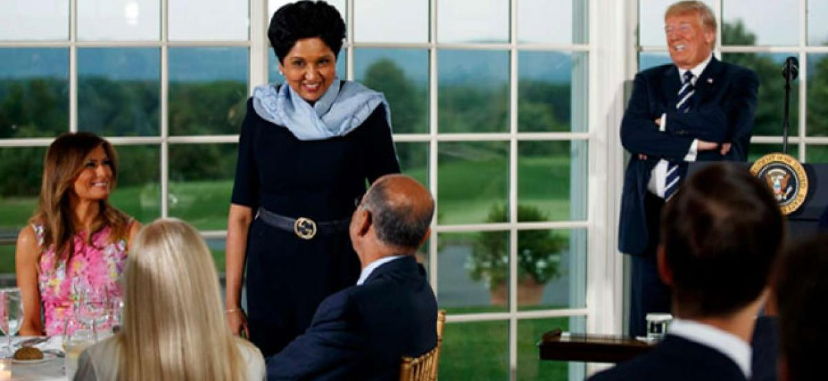 Trump hosts Indra Nooyi, Ajay Banga among top corporate leaders for dinner
