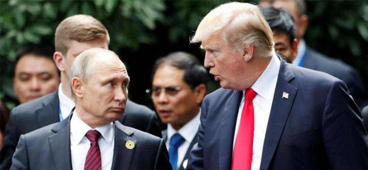 Ahead of summit with Putin, Donald Trump says Russia ties have NEVER been worse