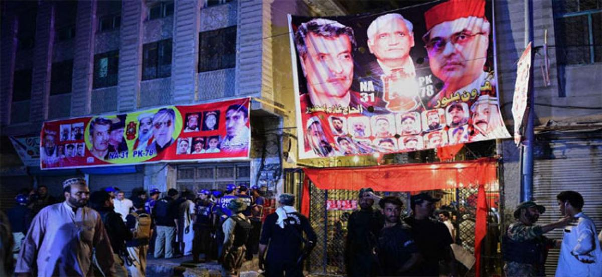 Suicide bomber targets poll rally in Pakistans Peshawar, ANP leader Haroon Bilour among 13 killed