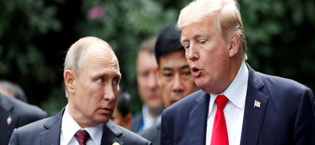 In Donald Trump- Vladimir Putin meet today, Russia's powerful message to West
