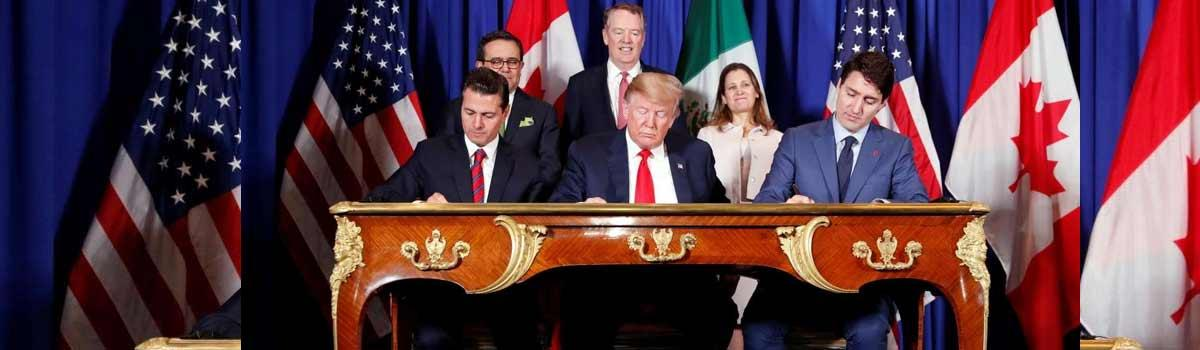 US, Canada, Mexico sign trade deal to replace NAFTA