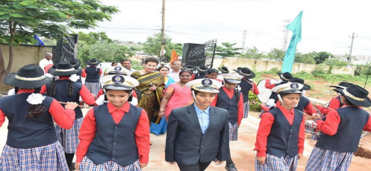 Renuka Chidambaram and team laud TSWREIS