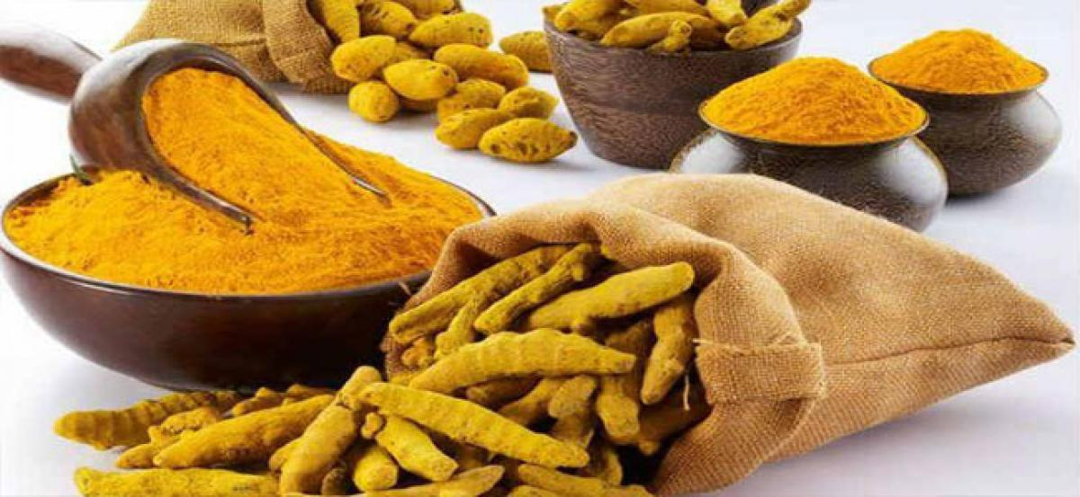 Axe falls on two officials in turmeric scam