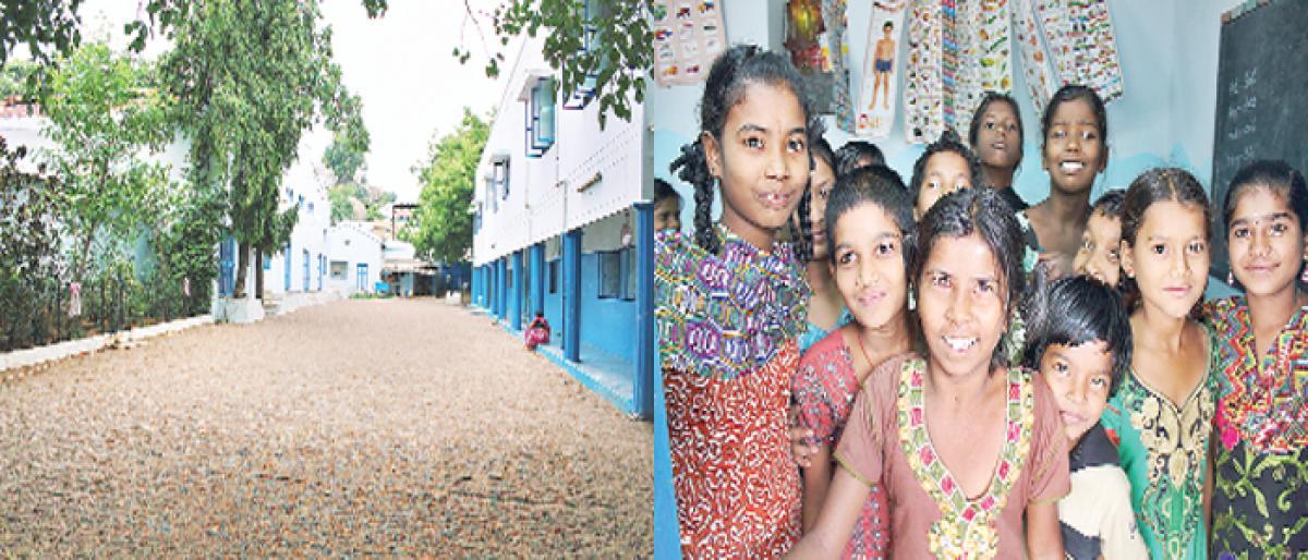 Empowering underprivileged girls through education
