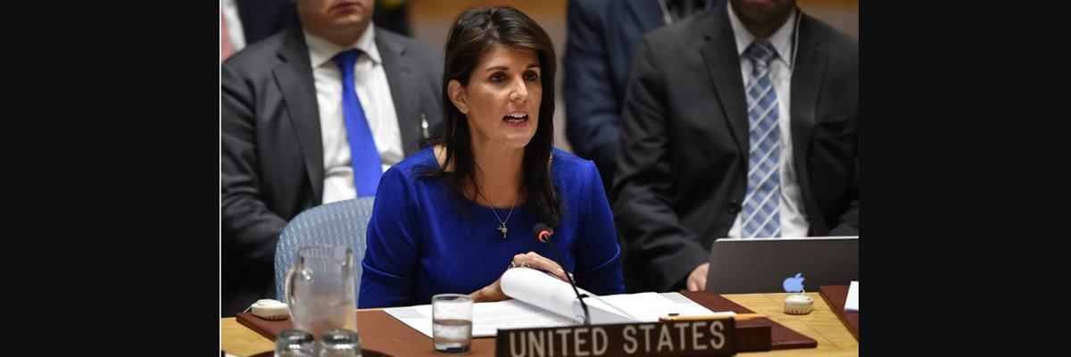 UN Security Council calls emergency meeting over Ukraine: Nikki Haley