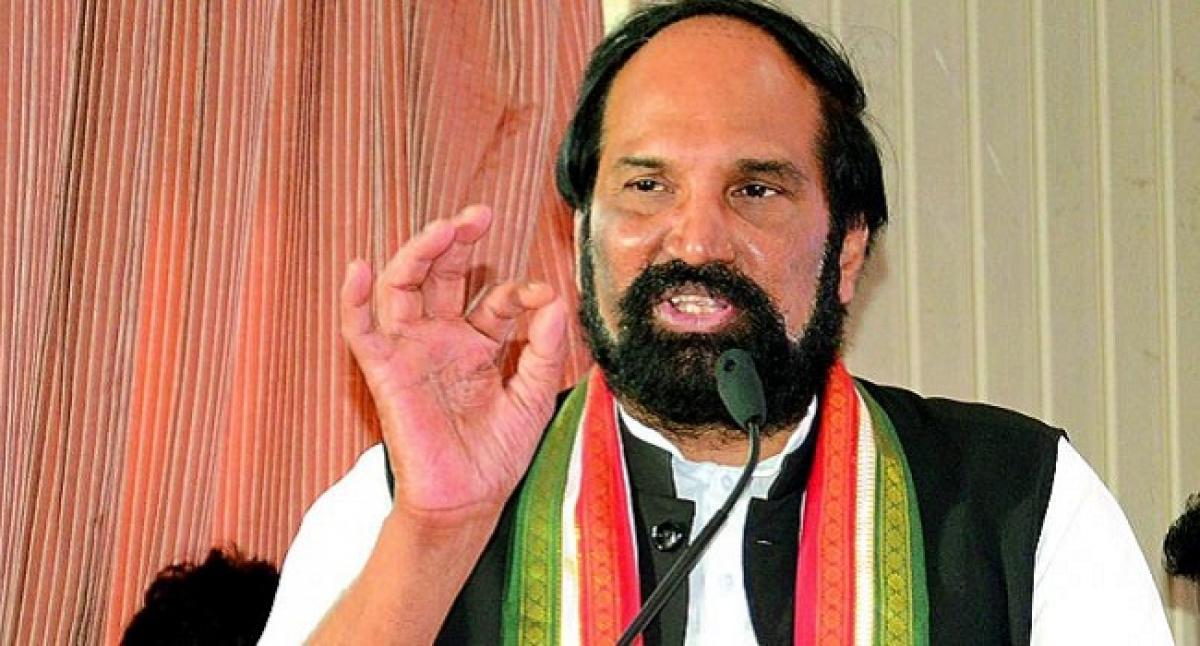Congress will win 5 States, not just three: Uttam Kumar Reddy