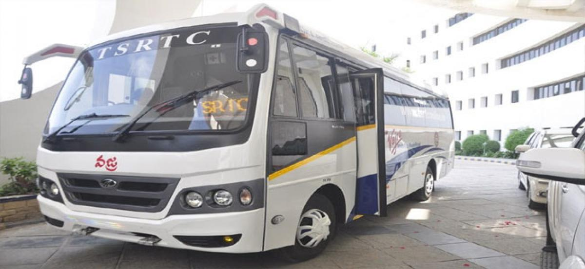RTC to allow booking on phone for seats in Vajra buses