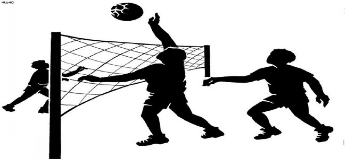 Regional volleyball meet today