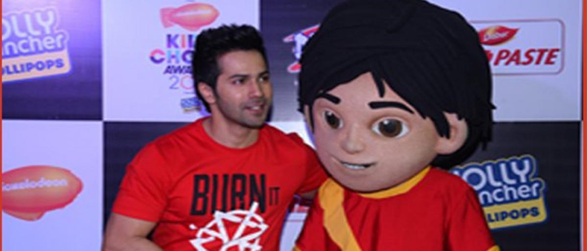 Varun Dhawan to perform at Nickelodeon Kids