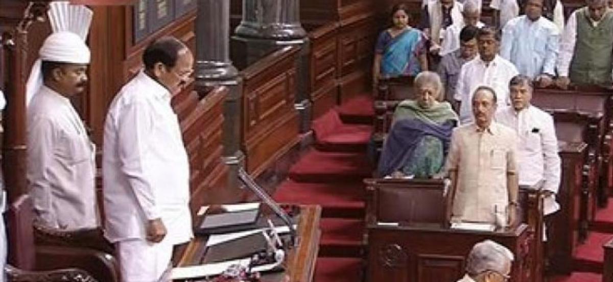 Venkaiah Naidu sets a record, speaks in 10 languages in Rajya Sabha