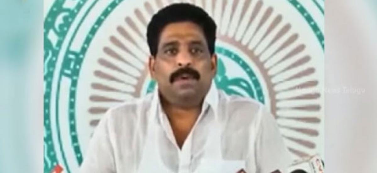 Jagan Mortgages Special Status At Modi :Budda Venkanna
