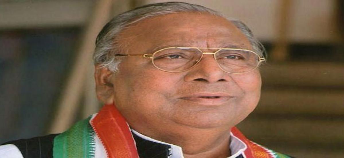 V Hanumanth Rao  slams government