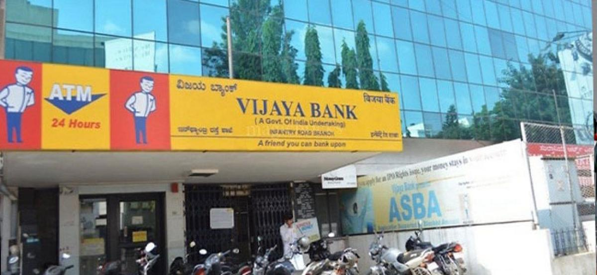 Vijaya Bank Q3 net tanks 65.45% to Rs 79.56 crore