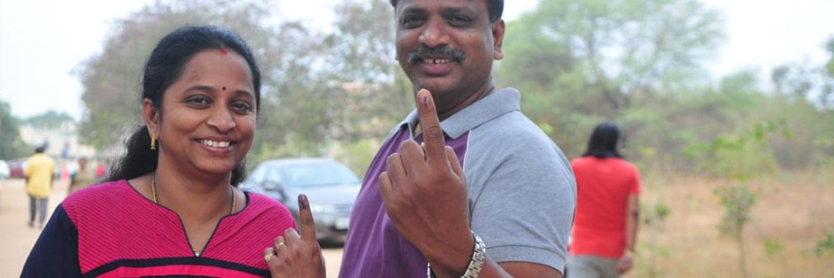 Live Updates: Election Day updates from Telangana