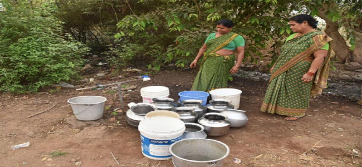 Water crisis looms large over port CITY