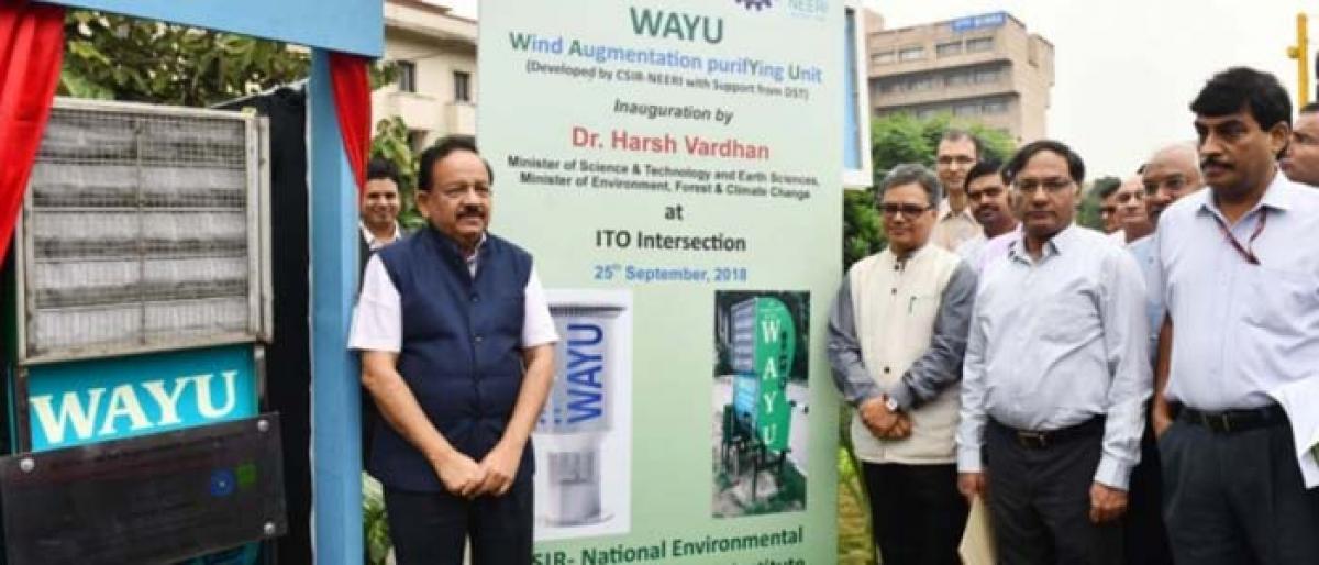 WAYU device to purify air in Delhi: Harsh Vardhan