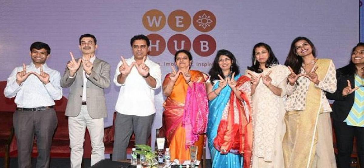 Start-up incubator for women We-Hub launched in Telangana