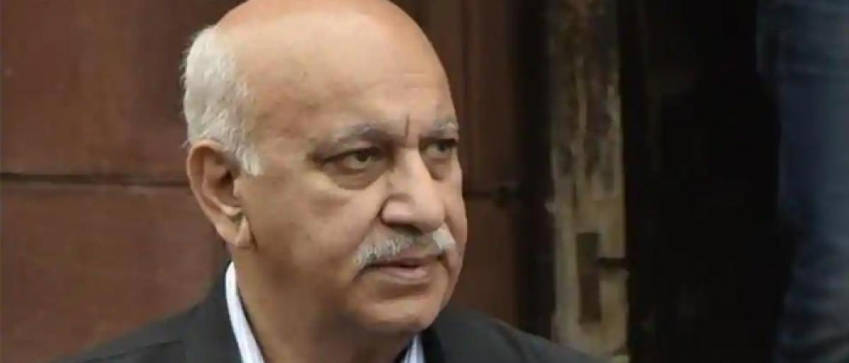 Editors Guild hopes Akbar will withdraw criminal defamation case