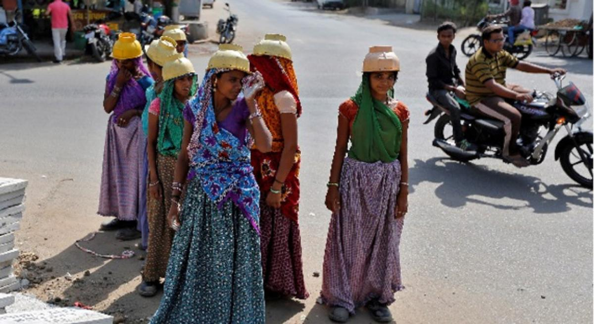 Rate of women migrating for work double that of men