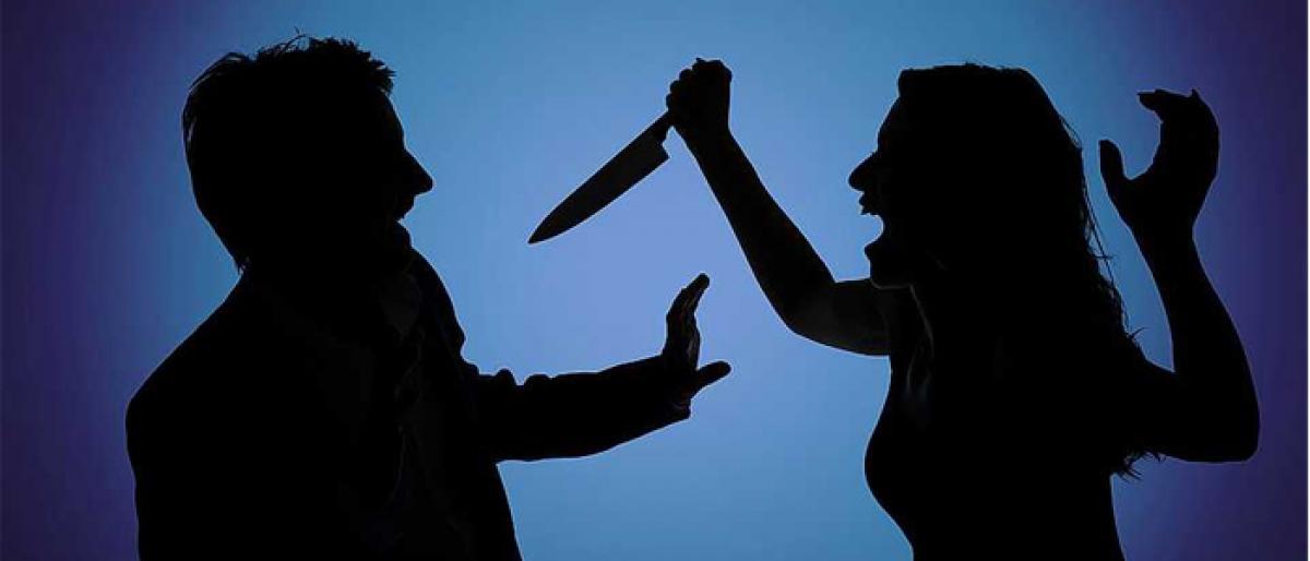 Woman attacks husband for consuming alcohol on Dasara in Telangana