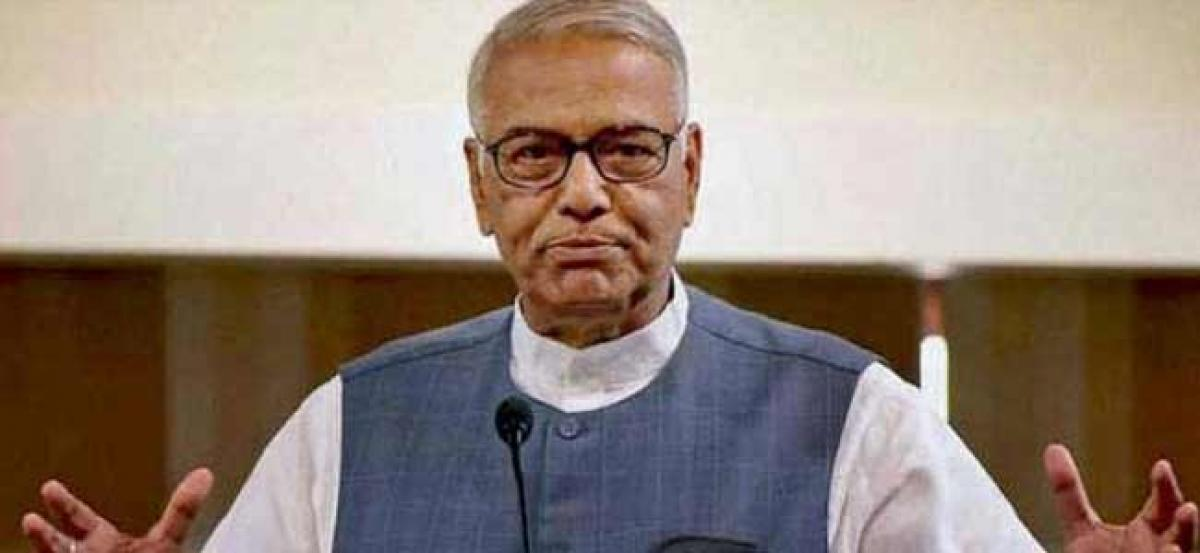 Situation today in country worse than emergency days: Yashwant Sinha