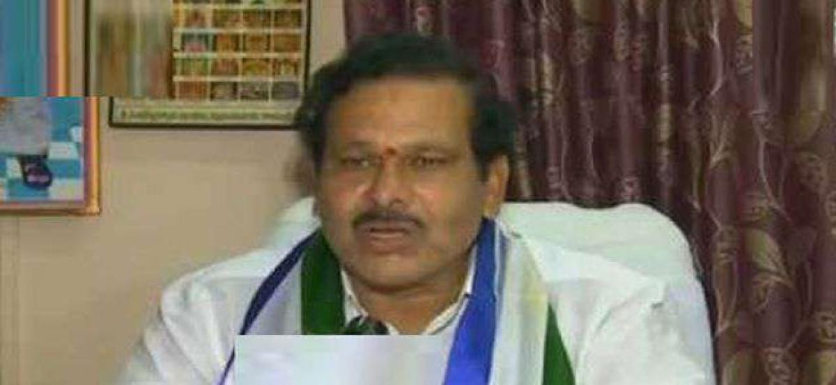 YSRCP flays Chief Minister for attack on Jagan