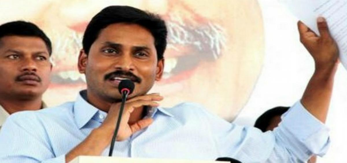 YS Jagan at YSRCP Plenary: People of AP are looking forward for replacement of TDP Govt