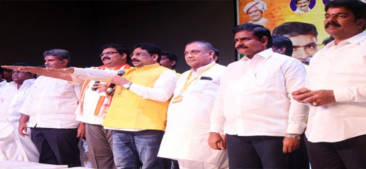 Telugu Desam Party Vijayawada Urban Committee sworn in